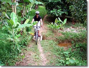 Thailand mountain biking tours