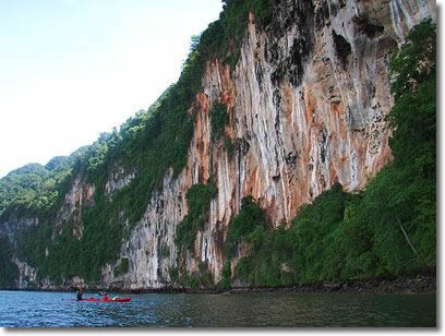 Phang Nga Bay kayaking tours