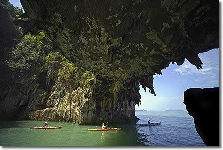 Phang Nga Bay sea canoeing tour